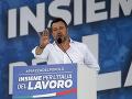 Pravicová opozícia pod vedením Salviniho vyzýva na predčasné voľby v Taliansku