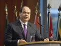 Egyptský prezident Abdel Fattah