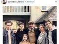 David a Victoria Beckhamovci s deťmi