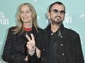Ringo Starr s manželkou Barbarou