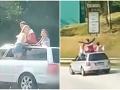 VIDEO z Rožňavy vyráža dych: Divoká jazda tínedžerov pobúrila aj policajtov!