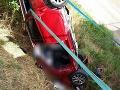 Tragická nehoda na R1: FOTO Hlásia jedno úmrtie a jedného raneného