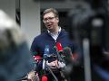 KORONAVÍRUS Srbsko opäť zavádza zákaz vychádzania v metropole Belehrad