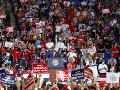 Tisíce prívržencov amerického prezidenta
