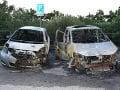 FOTO Podpálené auta v Košiciach: Škoda za desiatky tisíc, polícia už pyromana dolapila