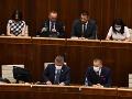 Rokovanie v parlamente