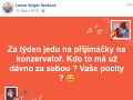 Leona Šenková si podala prihlášku na konzervatórium.