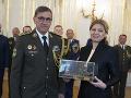 FOTO Prezidentka prijala odchádzajúceho generálmajora: Založila tak novú tradíciu