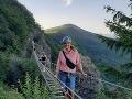 Karin Majtánová sa poriadne hecla: VIDEO Dovolenka na Slovensku ju prinútila prekonať obrovský strach!