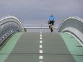 Cyklomost slobody v Devínskej Novej Vsi opäť otvorili,je nepoškodený