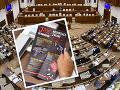 Škandál v parlamente! FOTO