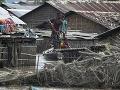 Záplavy a zosuvy pôdy v Indii a Indonézii: Milión ľudí muselo opustiť svoje domovy