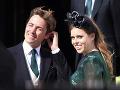 Britská princezná Beatrice a Edoardo Mapelli Mozzi