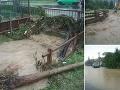 FOTO Východom Slovenska sa prehnala prietrž mračien: Zničujúce následky, niektoré okresy sú pod vodou