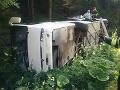 Polícia žiada o pomoc: Svedkovia pondelňajšej nehody autobusu pri Korytnici, prihláste sa!