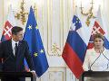 FOTO Samit EÚ vyslal posolstvo o jednote EÚ: Zhodla sa na tom Čaputová s prezidentom Slovinska