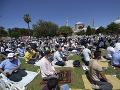 Erdogan sa zúčastnil na moslimských modlitbách v mešite Hagia Sofia