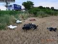 FOTO Hrozivá nehoda na východe Slovenska: Motorkár (†45) narazil do traktora, nehodu nemal šancu prežiť