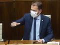Predsedu vlády SR Igora Matoviča sa opozícii nepodarilo odvolať počas mimoriadnej schôdze