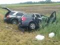 Hasiči v akcii: Zasahujú pri dopravnej nehode v katastri Komárna, zahynula jedna osoba