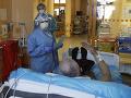 KORONAVÍRUS Počet ľudí hospitalizovaných v Česku pre COVID-19 sa mierne zvyšuje