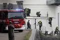 Požiar na vlakovej stanici v Prahe si vyžiadal evakuáciu päťsto osôb