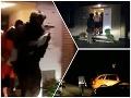 VIDEO z vyjednávacej drámy: Mladík hrozil, že dievčatko podreže a vyhodí z okna, ľudia tŕpli strachom