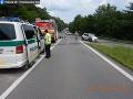 Tragická zrážka automobilu s motocyklom: Vyžiadala si dve obete na životoch