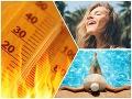 Vysoké teploty, tropické horúčavy a leto v plnom prúde? Stred júna podľa PREDPOVEDE prinesie teplotný zvrat!