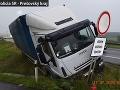 Záchranná akcia pred tunelom Branisko: Vodičovi kamiónu zlyhalo srdce