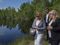 Prezidentka ukončila návštevu Banskobystrického kraja jazdou ČHŽ, videla aj gudrónové jamy