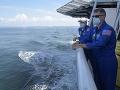 FOTO SpaceX prepisuje históriu: Dvojica astronautov sa úspešne vrátila na Zem