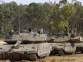 Izraelská armáda po vypálení
