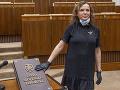 Šebová zvažuje zvolanie výboru na kontrolu činnosti Vojenského spravodajstva