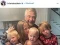 Alec Baldwin a jeho milované deti.