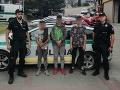 Traja chlapci v nedeľu ušli z detského tábora: Oravským policajtom sa ich podarilo vypátrať