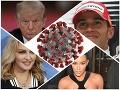 Slávne osobnosti šírili koronavírusové HOAXY: Zavaril si aj americký prezident