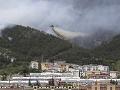 Dobré správy od talianskych hasičov: FOTO Evakuácia nehrozí, lesné požiare dostali po kontrolu