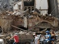 Mesto Bejrút je pod