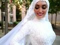 Desivé VIDEO z Bejrútu: Nevesta sa teší zo svadobných šiat, keď tu zrazu...