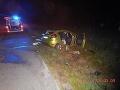 Vo štvrtok skoro ráno došlo aj k dopravnej nehode pred obcou Očová vo Zvolenskom okrese.