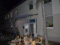 Požiar v domove dôchodcov v Zemianskych Kostoľanoch