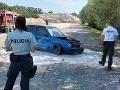 FOTO Tuningový zraz sa zmenil na horor: Auto narazilo do stromu, zasahoval aj vrtuľník