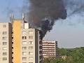 Tragický požiar v Česku: FOTO Horel panelák, hlásia 11 mŕtvych, ľudia skákali z okien