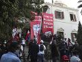 Americké veľvyslanectvo vyjadrilo podporu demonštrantom v Bejrúte