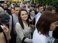 Kandidátka bieloruskej opozície na