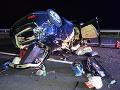 Hrôzostrašná nehoda štvorčlennej slovenskej rodiny: VIDEO Cesta z Chorvátska sa zmenila na horor, z auta ostal vrak