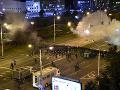 Nepokoje v uliciach Bieloruska.