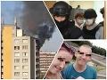 Jakub, Pavel, Rostislav a Žaneta utiekli z ohnivého pekla: Útok podpaľača prežili vďaka zhode okolností
