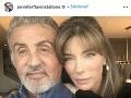 Sylvester Stallone s krásnou manželkou Jennifer